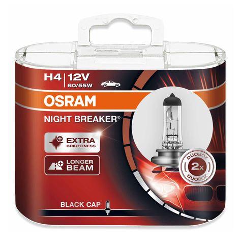 H4 Osram Night Breaker 2-PACK
