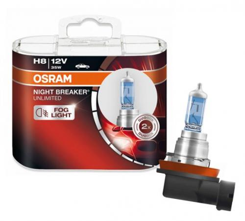 H8 Osram Night Breaker Unlimited 2-pack
