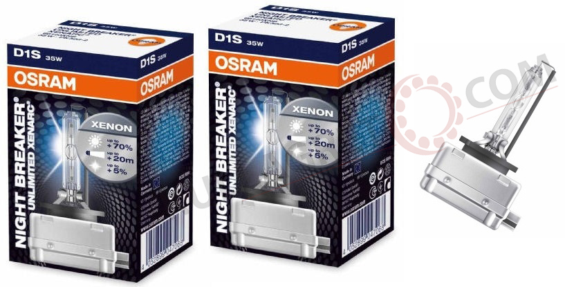 d1s osram night breaker unlimited 2 pack. Black Bedroom Furniture Sets. Home Design Ideas