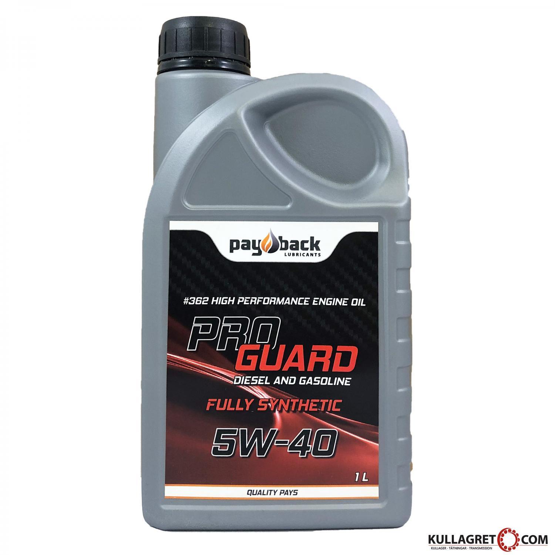 Payback #362 5W-40 PRO GUARD Motorolja 1L