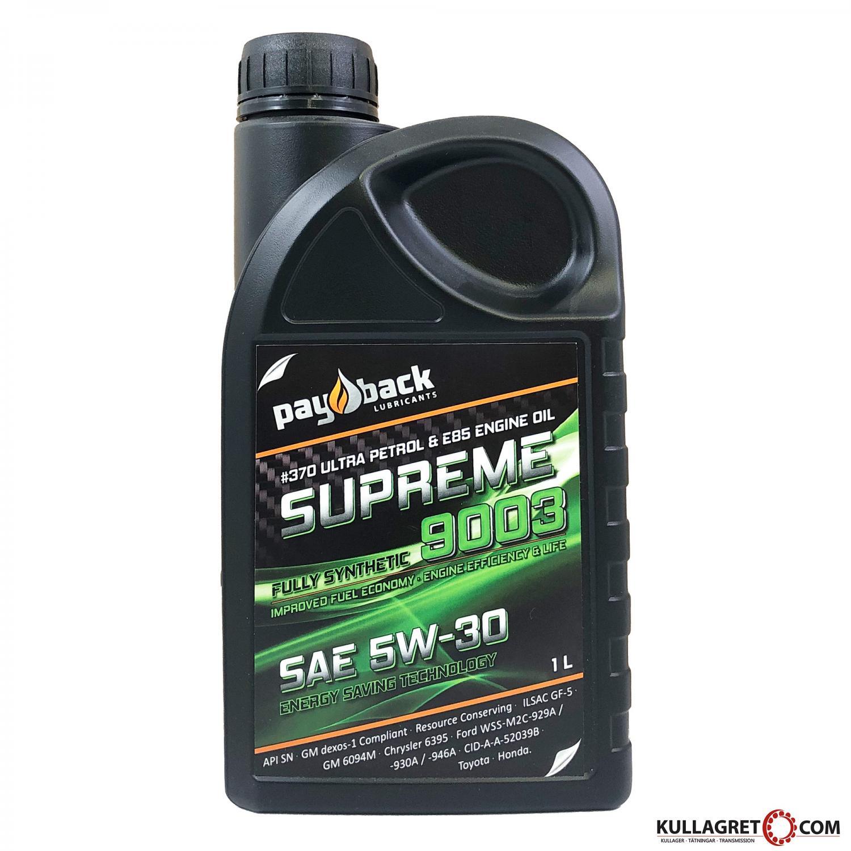Payback #370 5W-30 Supreme 9003 Motorolja 1L