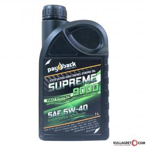 Payback #372 5W-40 Supreme 9000 Euro 6 Motorolja 1L