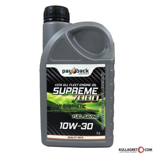 Payback #374 10W-30 Supreme 7000 Motorolja 1L