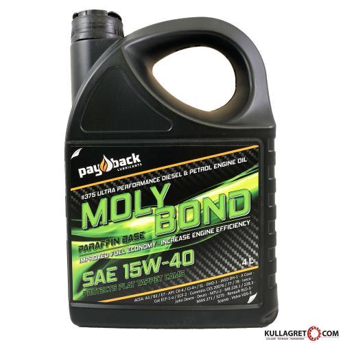 Payback #375 15W-40 Moly Bond Motorolja 4L