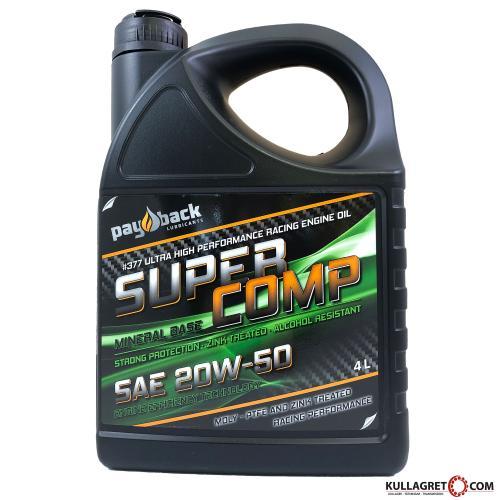 "Payback #377 20W-50 Super Comp ""ZINK"" Motorolja 4L"