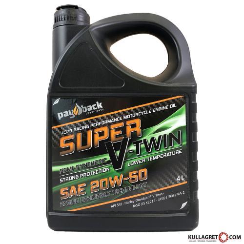 Payback #379 20W-50 Super V-Twin Motorolja 4L