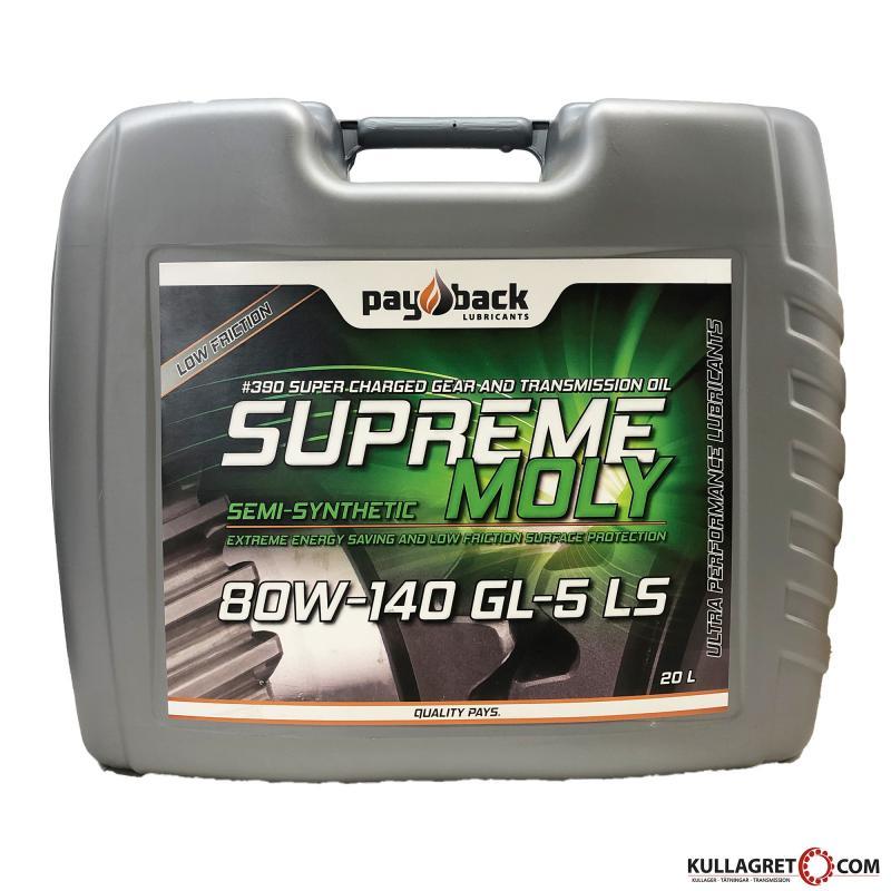 Payback #390 80W-140 Supreme Moly Växellådsolja