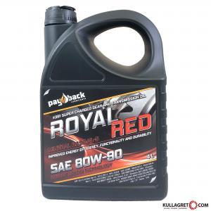 Payback #391 80W-90 Royal Red Växellådsolja 4L