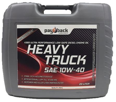 Payback #365 10w-40 Heavy Truck 20L