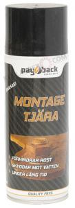 "Payback #205 Montage Tjära "" Starkt Rostskydd"" 400 ML"