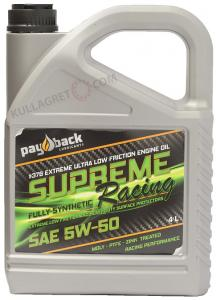 "Payback #376 5w-50 Supreme "" zink"" Racing 4L"