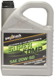 "Payback #377 20W-50 Super Comp Mineral ""ZINK"" 4L"