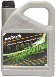 "Payback #378 20W-50 Semi-Synt ""ZINK"" Racing Comp 4L"