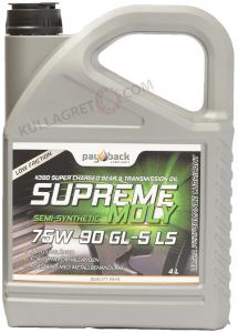 PAYBACK #390 75w-90 Supreme Moly GL-5 LS 4L