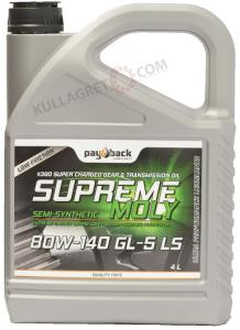 Payback #390 80w-140 Supreme Moly GL-5 LS 4L