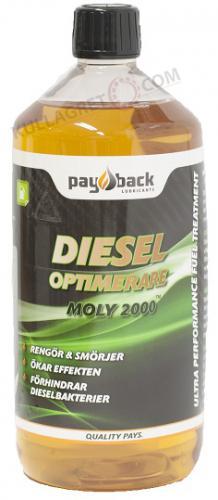 Payback #460 Dieseloptimerare MOLY 2000 1L