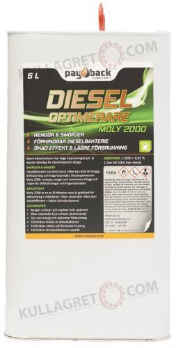 Payback #460 Dieseloptimerare MOLY 2000 5L