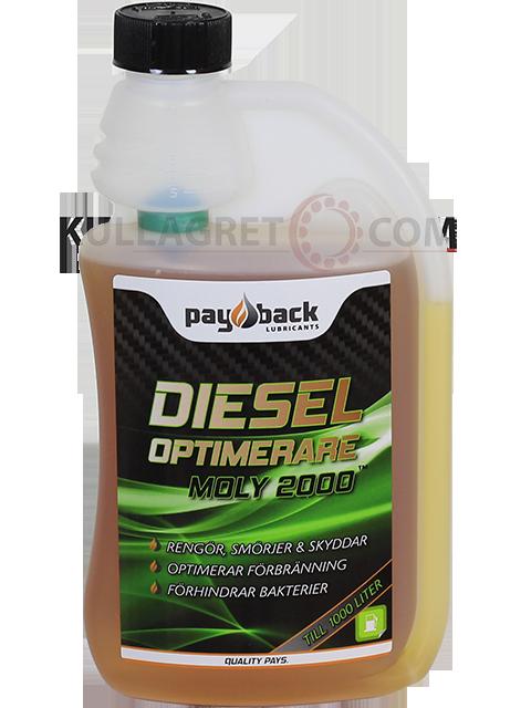 Payback #460 Dieseloptimerare MOLY 2000 500ML