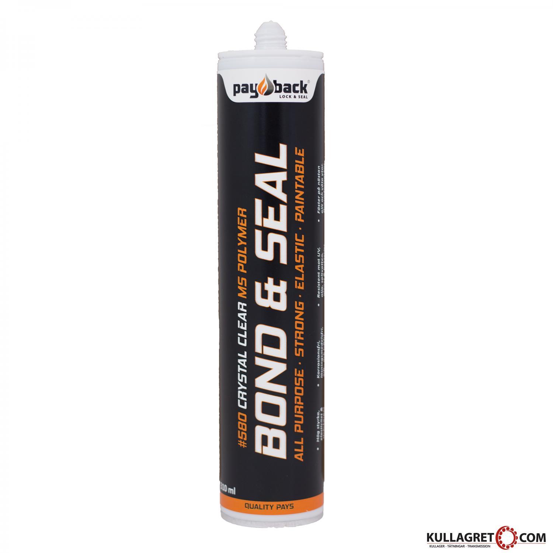 P580 Bond & Seal MS Polymer (KLAR) 310g