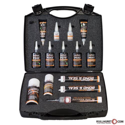 P7950 Väska med 14st Lås & Tätningsmedel