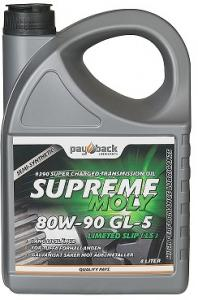 Payback #390 80w-90 Supreme Moly GL-5 LS 4L