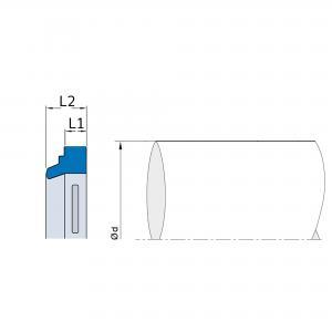 A1 8x14x2,6/5 Avstrykare NBR