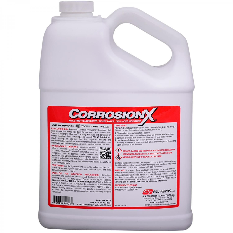 CorrosionX Röd / Dunk 3,78Liter