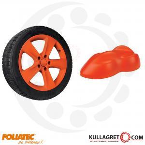 Orange Matt Foliatec Spray film 400ml
