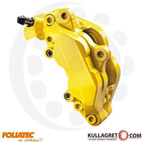 "Gul  ""Speed Yellow"" Bromsoksfärg Foliatec 2-komponent"
