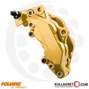 """Guld Metallic """"Prestige Gold"""" Bromsoksfärg Foliatec 2-komponent"""