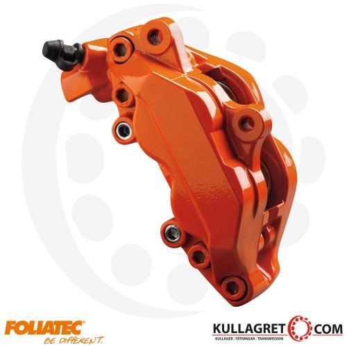 "Orange Bromsoksfärg ""FLAME ORANGE"" Foliatec 2-komponent"