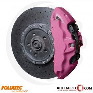 "Rosa Metallic Bromsoksfärg ""CANDY PINK""| Foliatec 2-komponent"
