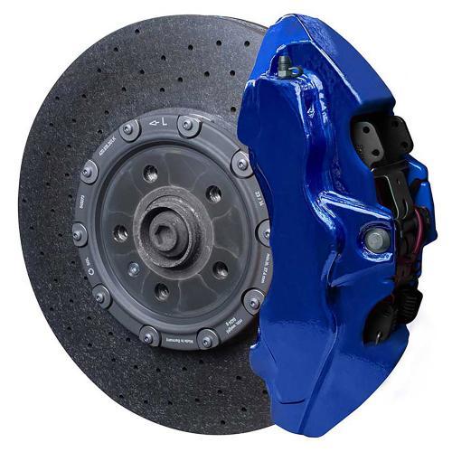 Performance Blue Metallic Foliatec Bromsoksfärg 2-komponent