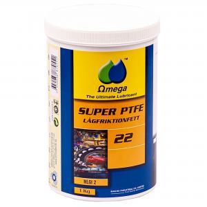 """Omega 22 Lågfriktionsfett """"PTFE"""" 1kg"""