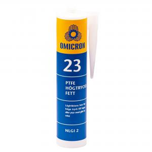 Omicron 23 Högtrycksfett PTFE NLGI 2 Kitpatron 300g