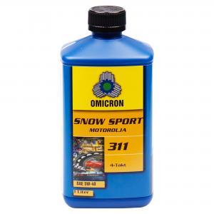 """Omicron 311 5W-40 4-T Motorolja """" Snow Sport Syn"""" 1L"""