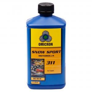 """Omicron 311 5W-50 4-T Motorolja """" Snow Sport Syn"""" 1L"""