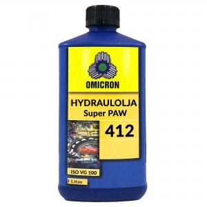 Omicron 412 ISO VG 100 Hydraulolja 1L