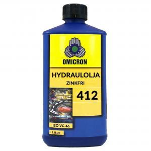 Omicron 412 ISO VG 46 Hydraulolja ZINKFRI