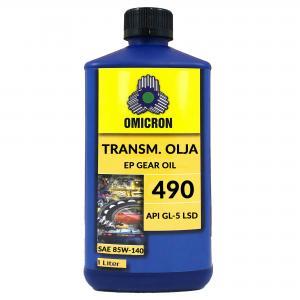 Omicron 490 SAE 85W-140 Transmissionsolja API GL-5 LSD