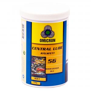 Omicron 56 Rälsfett Bio centralsmörjfett 1kg