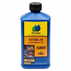 Omega 580 ISO VG 68 Maskinolja FG 1L