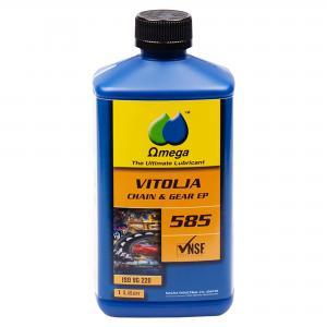 """Omega 585 ISO VG 220 Kedje- och Transmissionsolja """"FG klassad"""""""