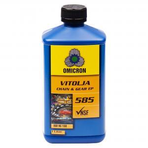 """Omicron 585 ISO VG 150Kedje- och Transmissionsolja """"FG klassad"""""""
