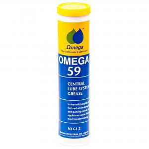 Omega 59 Centralsmörjfett NLGI 2 / Patron 400g
