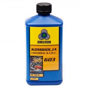 Omicron 603 10W-30 Universal Traktorolja Royal Blue 1L