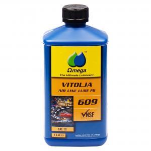 """Omega 609 Dimsmörjolja """"FG klassad"""" 1L"""