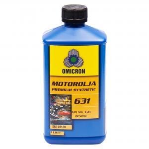 "Omicron 631 0W-20 Motorolja ""Premium Synthetic"" 1L"