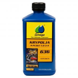 """Omega 636 Krypolja """"4 in 1"""" 1Liter"""