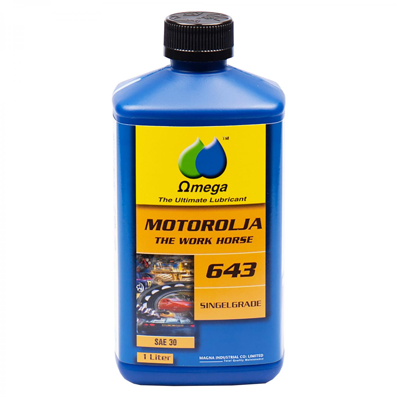 "Omega 643 SAE 30 Motorolja ""Single Grade"" 1L"